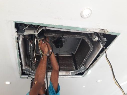 kingcold – entretien nettoyage de climatiseur en martinique 03