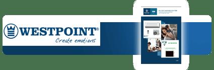 Climatiseur Westpoint Inverter A++ avec pose sur site en Martinique avec Kingcold