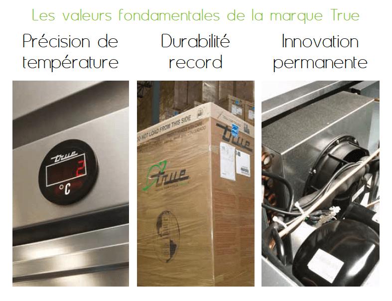 matériel frigorifique True